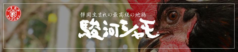 静岡生まれの最高級の地鶏 駿河シャモ